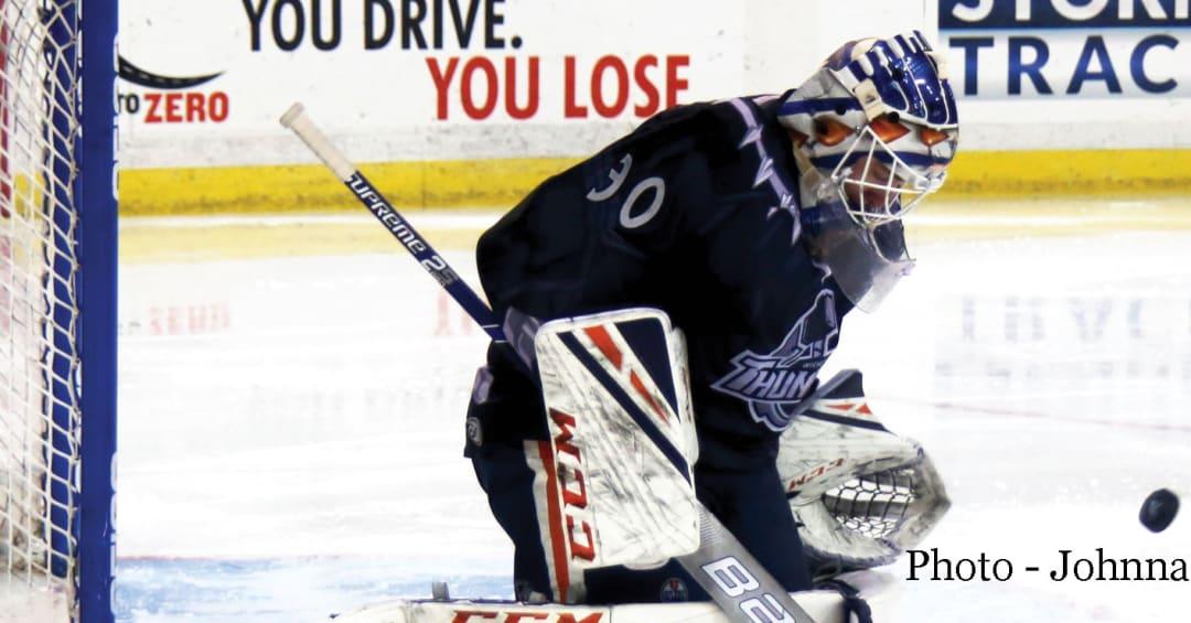 Wichita's Wells named CCM/ECHL Goaltender of the Week